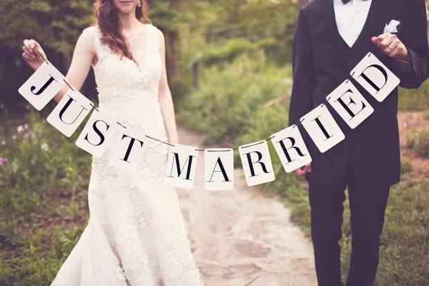Одруження, весілля – 50 балів