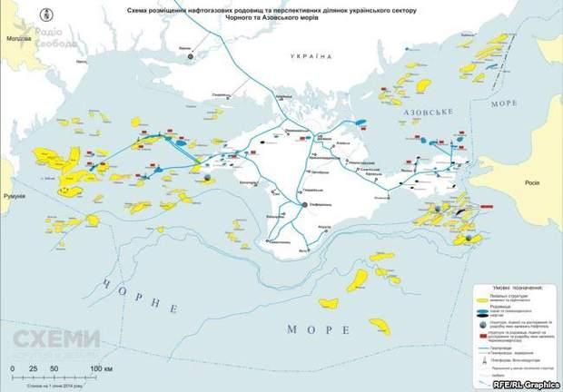 газ росія чорноморфлот