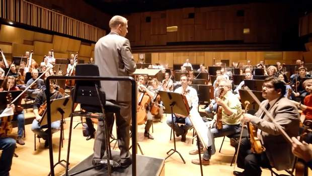 симфонический оркестр драка