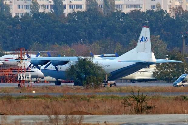 Надзвичайна ситуація, Одеса, аеропорт, авіація, Boeing, Ан-12
