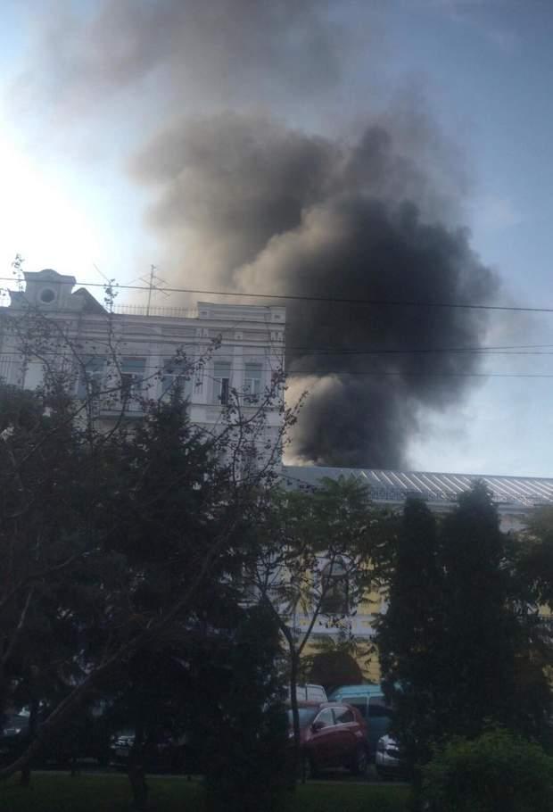 Київ поділ пожежа