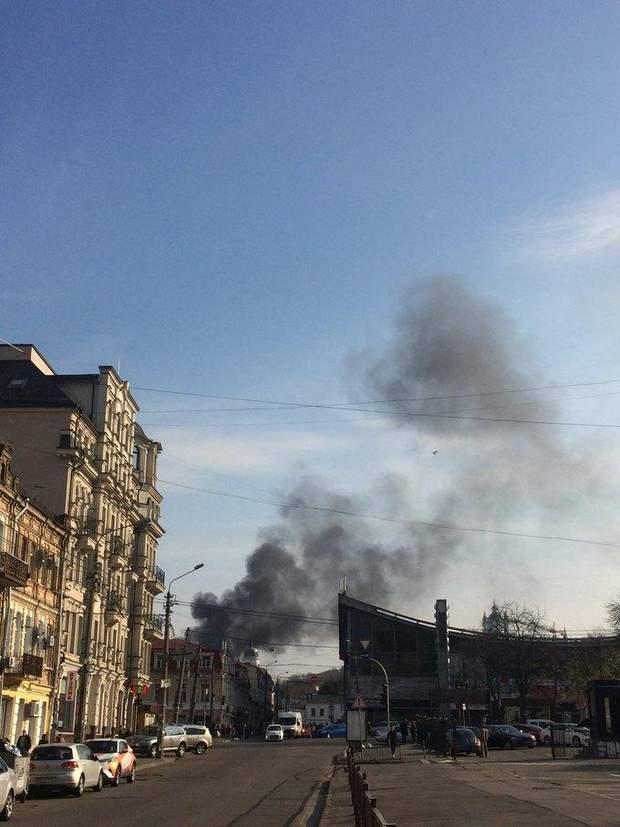 Пожежа Київ поділ