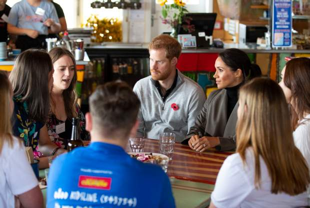 Принц Гаррі і Меган Маркл в Новій Зеландії