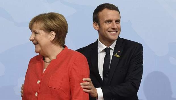 Макрон захоче замінити Меркель в ЄС