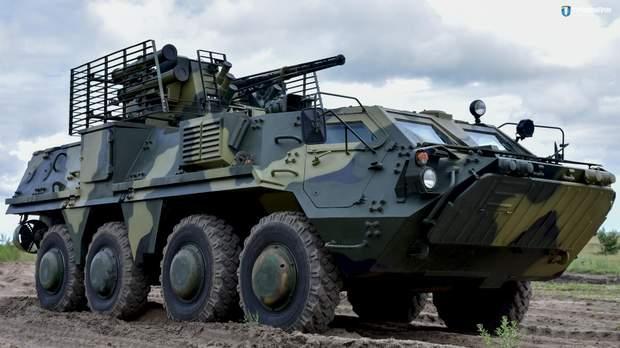 Українська армія бронетранспортери