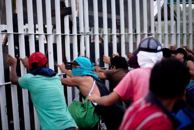 Біженці Караван Мексика