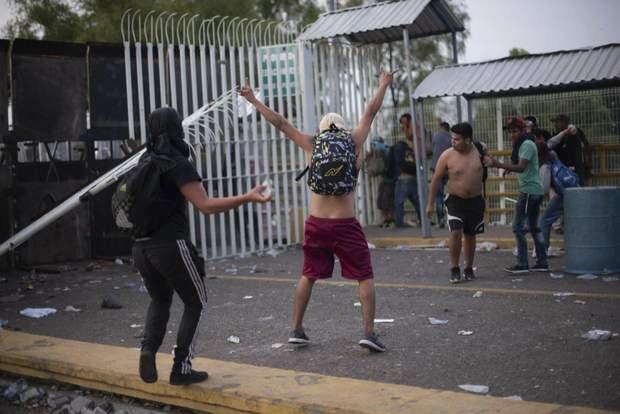 Біженці мігранти Мексика
