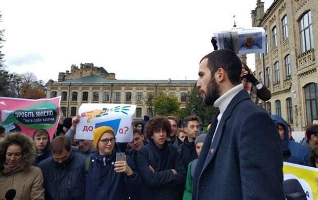 Студенти вимагають відставку ректора і проректора КПІ