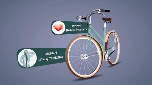 Велосипеди корисні для здоров'я