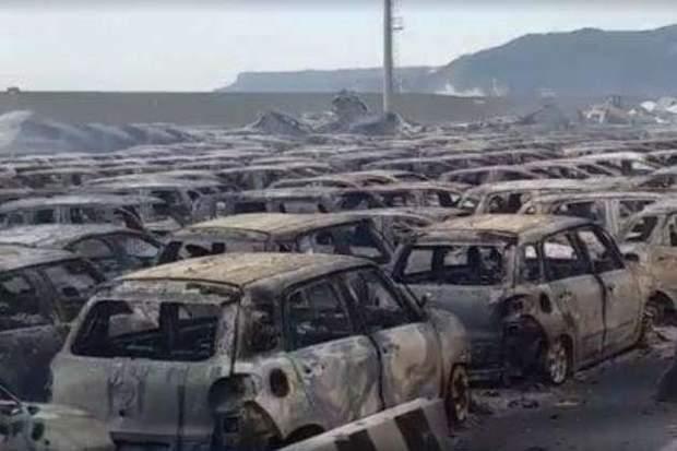 Елітні Maserati згоріли через негоду