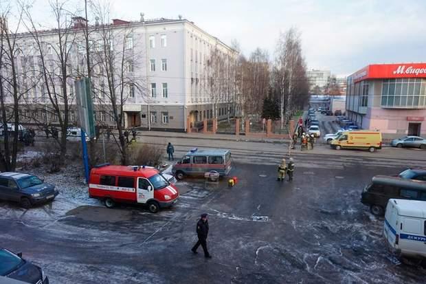 Вибух, Архангельськ, ФСБ,  Росія, жертви
