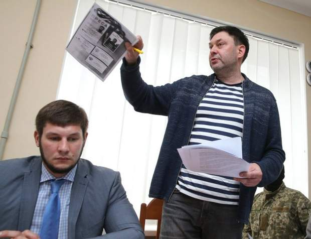 Ігор Мокін захищає Кирила Вишинського
