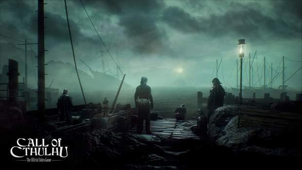 Скріншот з гри Call of Cthulhu