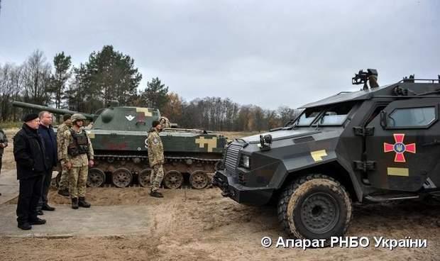 Мобільний мінометний комплекс Барс випробування ЗСУ бойова машина