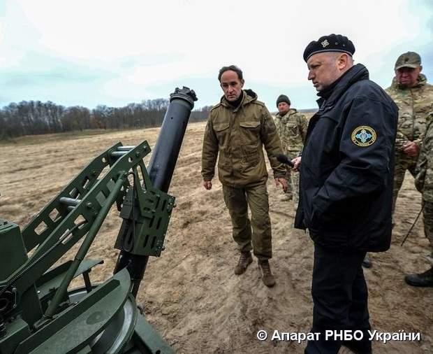 ЗСУ мінометний комплекс Барс зброя Турчинов РНБО