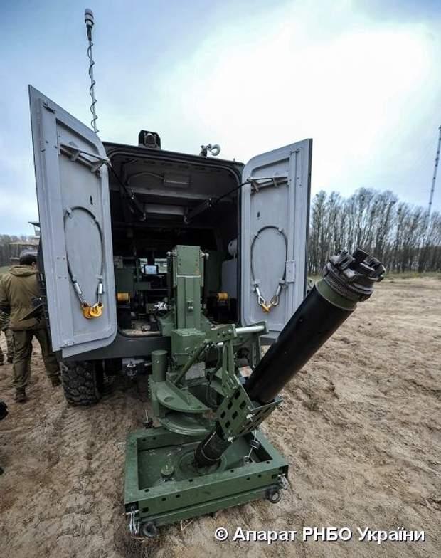 зброя ЗСУ бойова машина барс мінометний комплекс