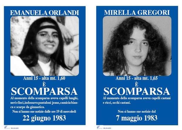 Ватикан дівчата зникли 35 років