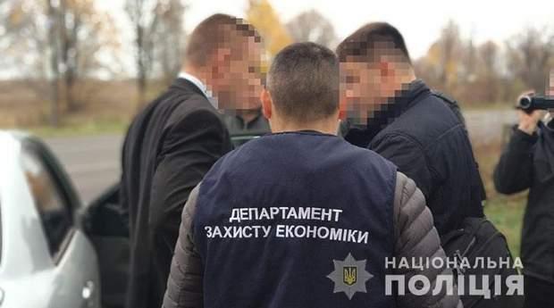 Хабар корупція Львівщина голова РДА Рахехів