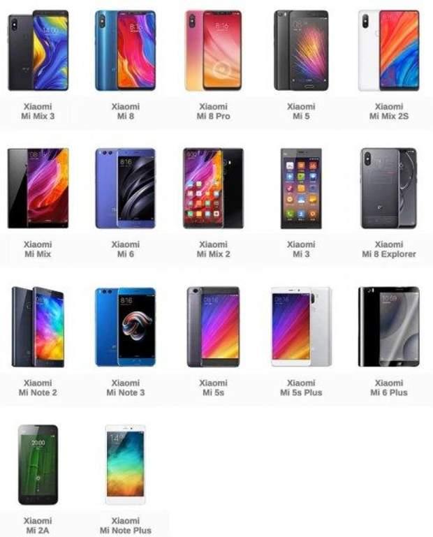 Які смартфони Xiaomi мають модуль NFC