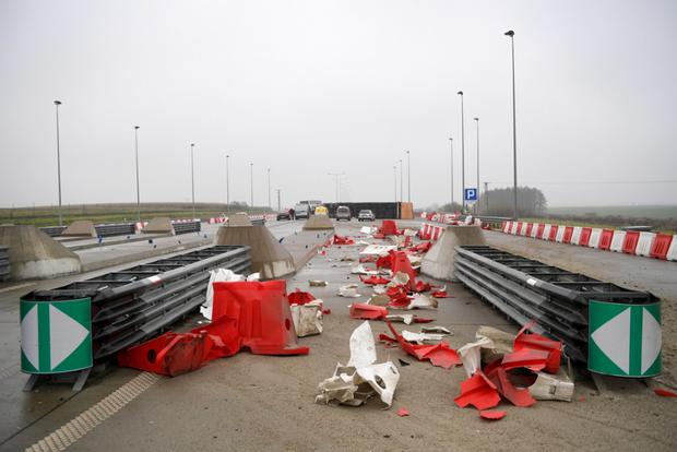Аварія з українською вантажівкою у Польщі