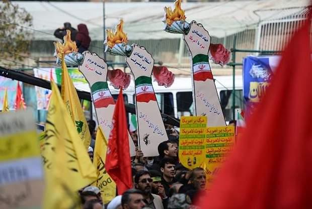 Масові антиамериканські демонстрації у Тегерані