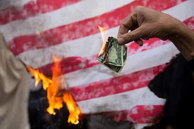 Протеси проти США у Тегерані 4 листопада