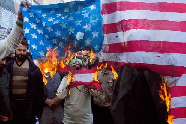 Масові антиамериканські демонстрації в Тегерані 4 листопада