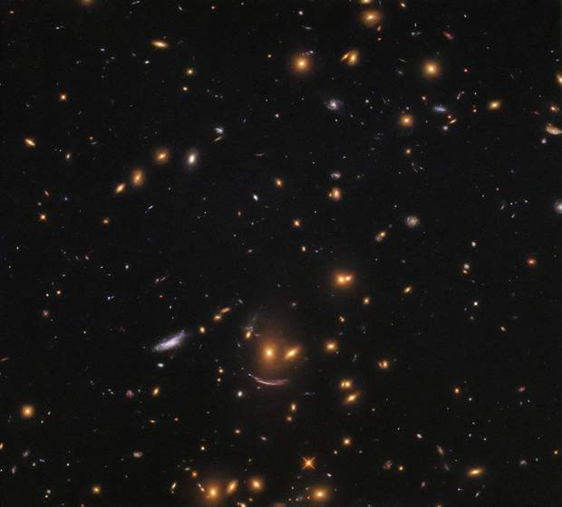 Hubble takes a photo of the Zoryan System