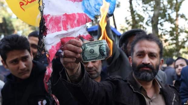 В Ірані пройшли мільйонні акції протесту проти США та нових санкцій