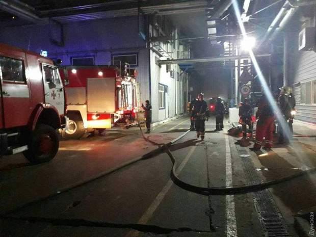 Одеса Пожежа завод