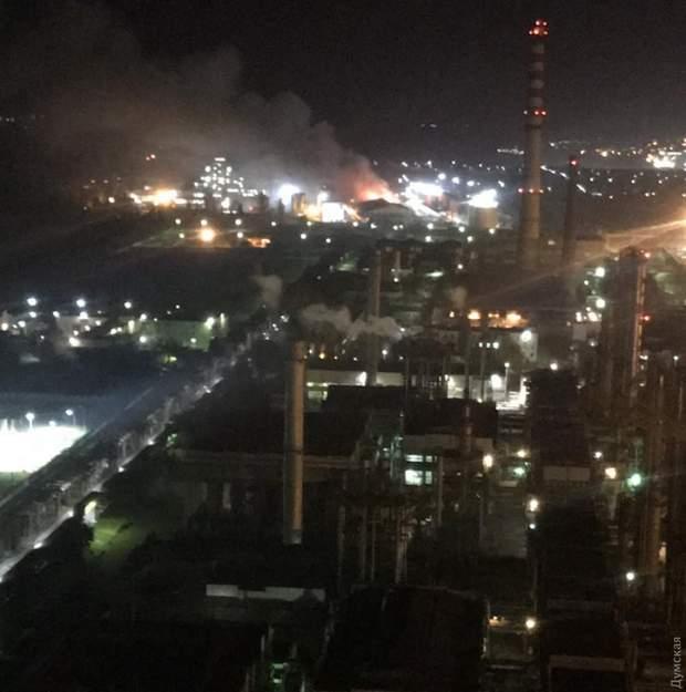 Одеса завод Пожежа