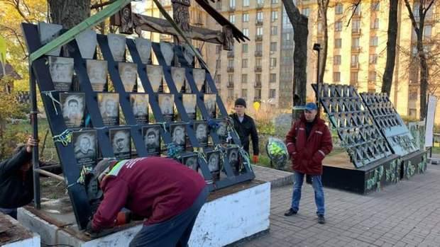 Київ пам'ятник Герої Небесна Сотня Революція Гідності Євромайдан розслідування