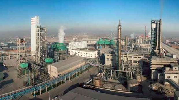 Фото заводу, на якому стався вибух