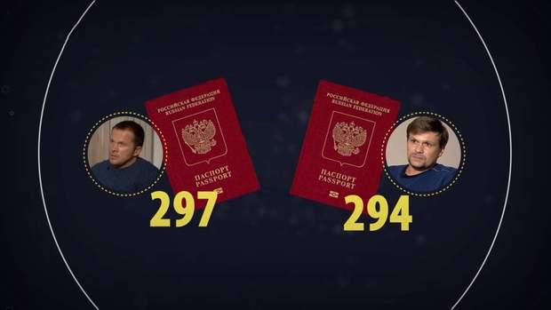 У Баширова та Петрова спільна серія паспортів