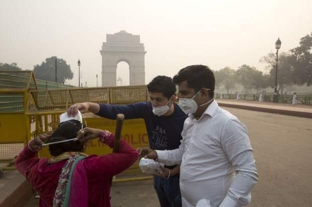 Нью-Делі охопив токсичний смог