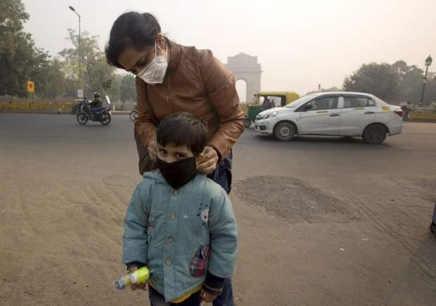 На період високої забрудненості повітря у місті закрили школи