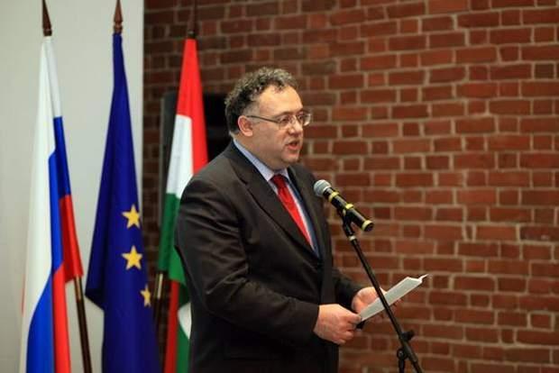 Угорщина посол Іштван Ійдярто