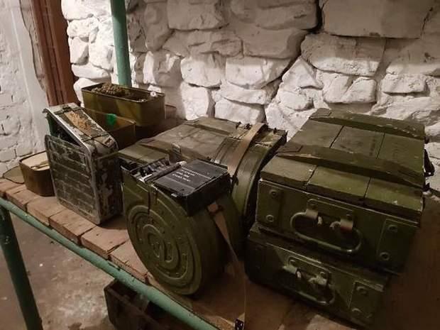 СБУ зброя боєприпаси Луганщина ООС Донбас