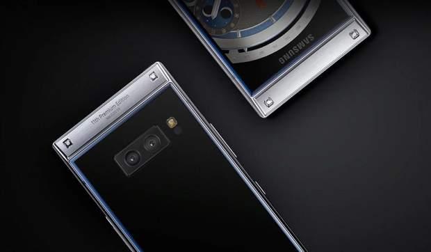 Samsung, W2019, розкладушка, жабка, смартфон, телефон