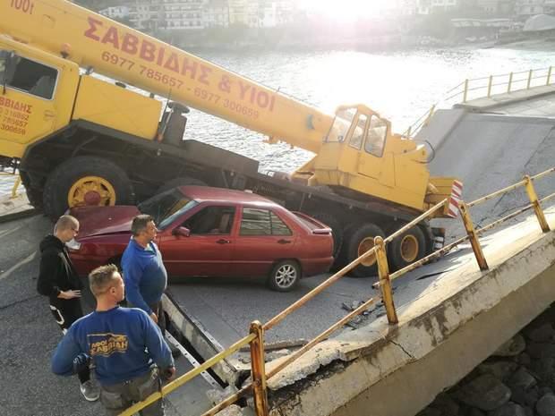 Греція обвалився міст