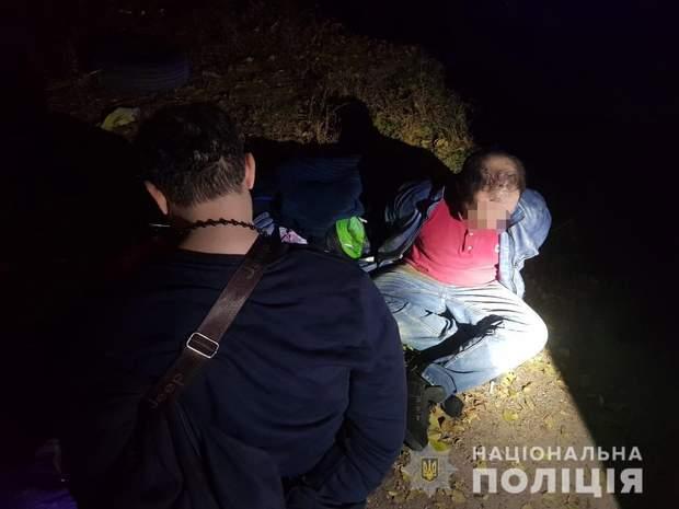 Затримання іноземців-грабіжників у Дніпрі