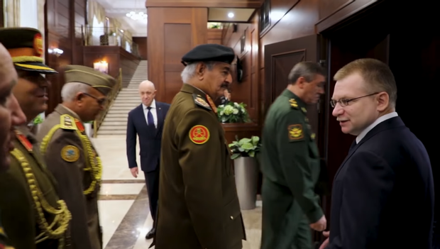 Путін Пригожин Росія Лівія