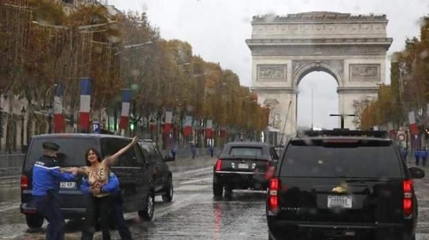 Париж Фемен Трамп