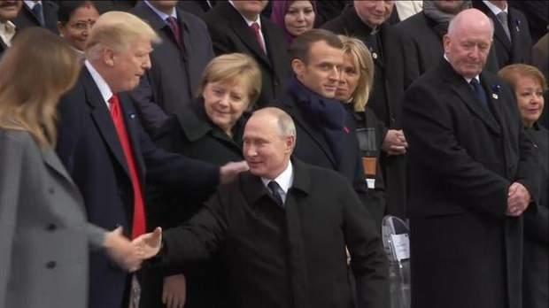 Трамп Путін Париж