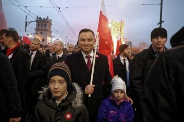 Дуда Польща марш президент