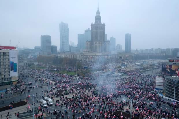 Польща Варшава марш
