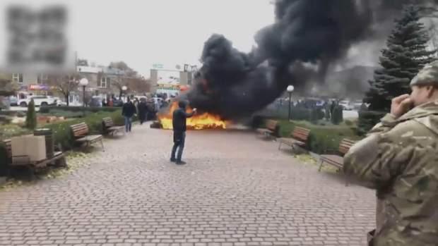 Протести у Кривому Розі через відсутність опалення