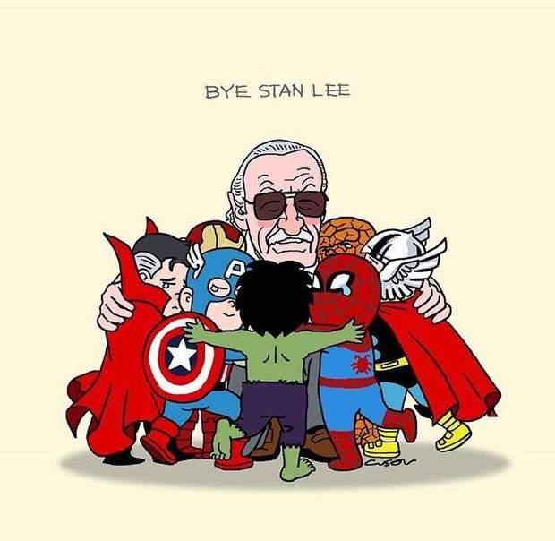 Помер Стен Лі