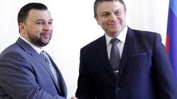 ОРДЛО війна на Донбасі Пушилін Пасічник