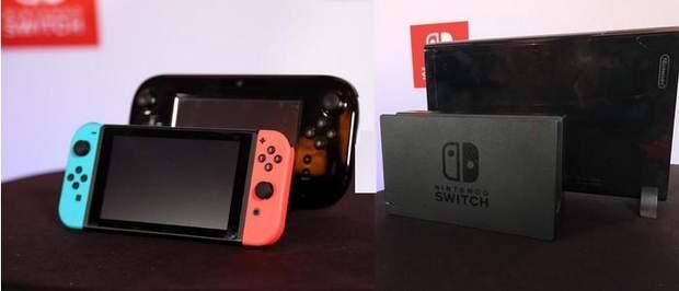 Nintendo Wii U і Switch